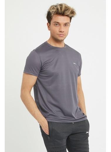Slazenger Slazenger REPUBLIC Erkek T-Shirt K. Antrasit